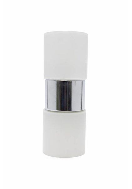 Retro Wandlampje, 2 Glazen Cilinders