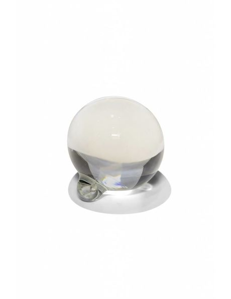 Kroonluchter kraal, massief kristal glas