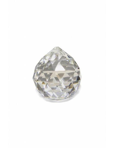 Kroonluchter glaswerk, kristal glazen bol