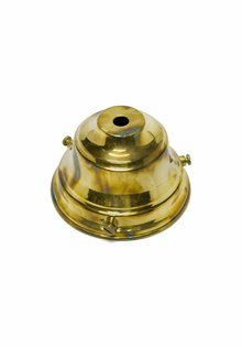 Glass Holder, Gold-Coloured Copper, 9.5 cm / 3.74 inch Diameter