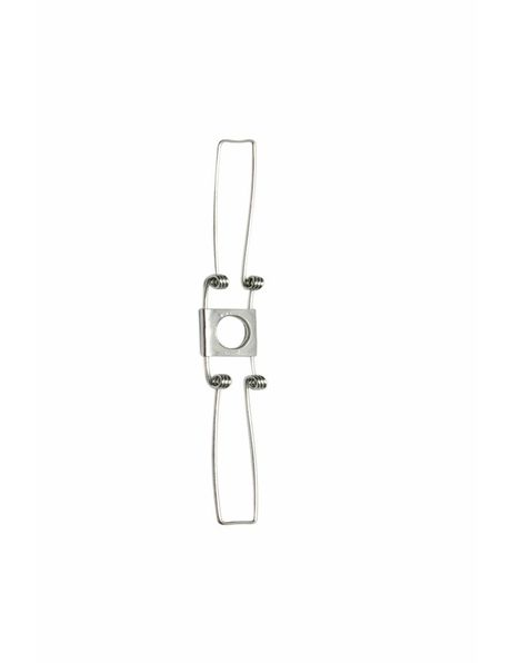 Steel Clamp Spring, 2 legs, middle size