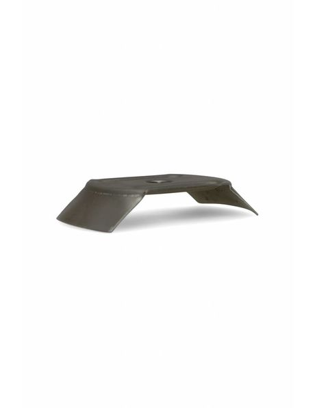 Metal glass support, 6 cm / 2.4 inch handle