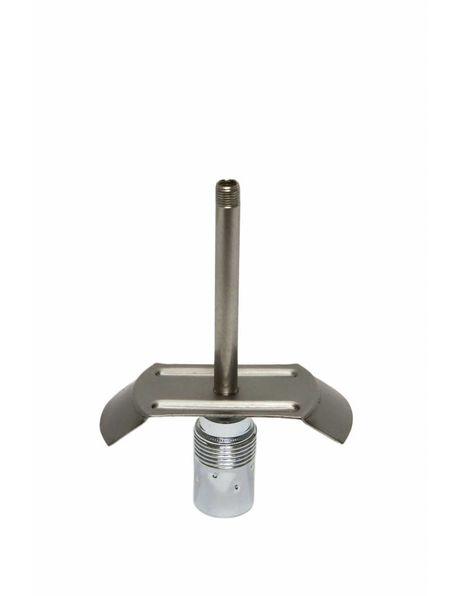 Metalen glasdrager, 6 cm greep