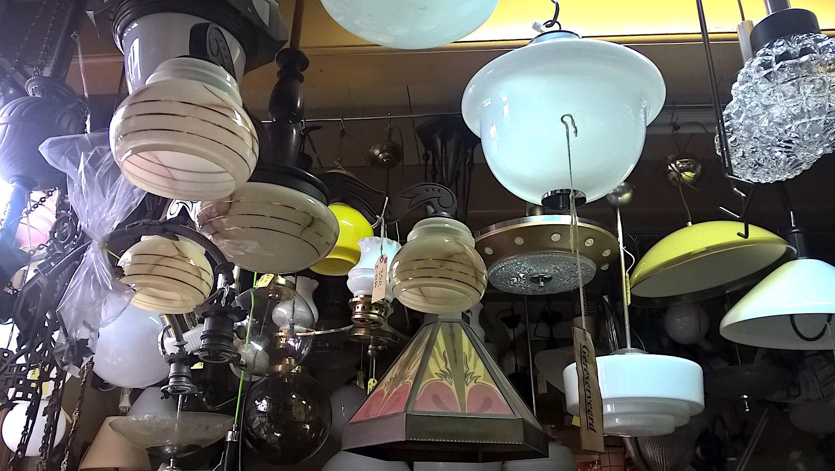 Foto lampen winkel Soest