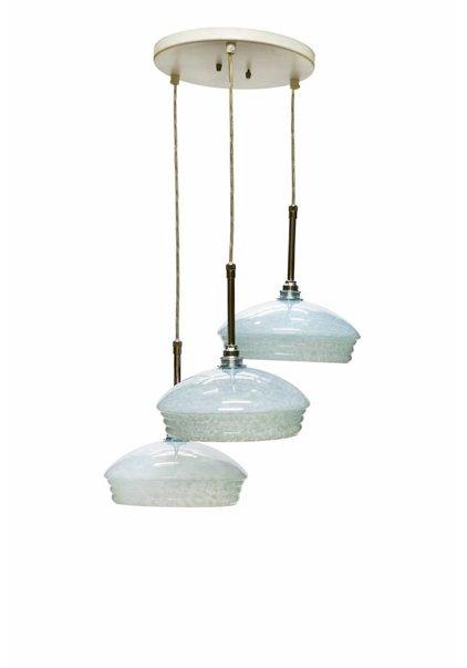 Cascade Hanglamp, Licht Blauw Glas