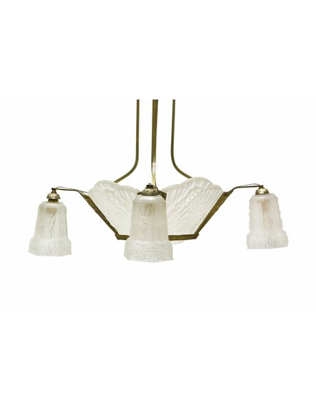 Art Deco hanglamp, Robert, ca. 1930