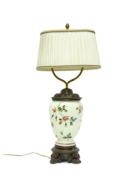 Classic Table Lamp, Converted Oil Lamp