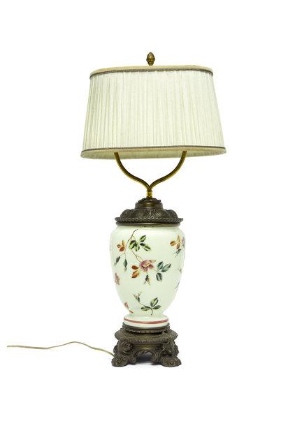 Klassieke Tafellamp, Omgebouwde Olielamp
