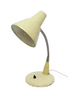 Bureaulamp, Industrieel, Cremekleurig