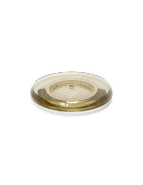 Bruin transparante glazen schijf voor Spoetnik lamp