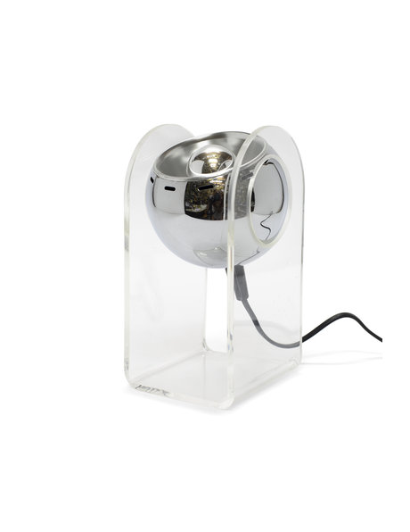Retro table lamp, after model 540 by Gino Sarfatti, 1970s