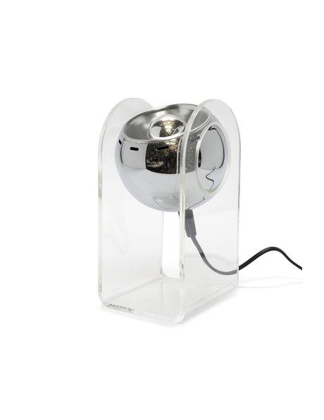 Retro tafellamp, naar model 540 van Gino Sarfatti, ca. 1970