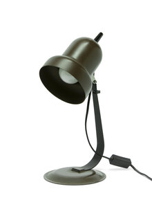 Retro Desk Lamp, Brown, 1970s