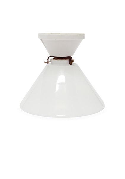 Jaren 40 Plafondlamp, Wit