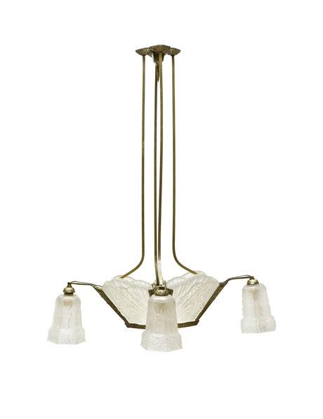 Art Deco pendant lamp, Robert, 1930s