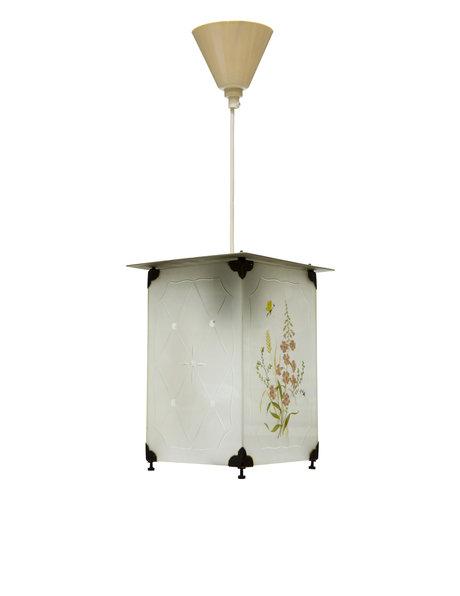 Small lantern, rectangle, glass 1940s