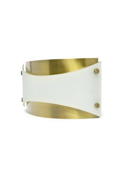 Design Wandlamp, Jaren 70, Halfrond