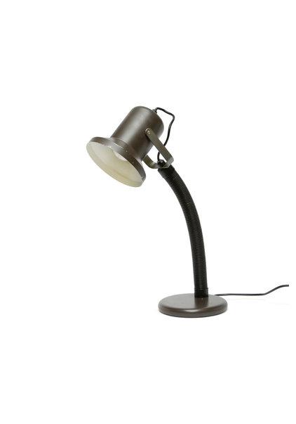 Bureaulamp, Bruin Zwart, Jaren 60