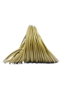 Lamp  Wire, Gold Colour, Round, 2 Core, 2x0.75