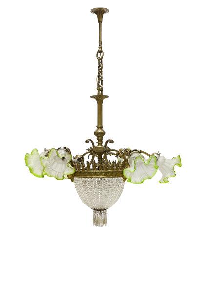 Classic Pendant Lamp, 1930s