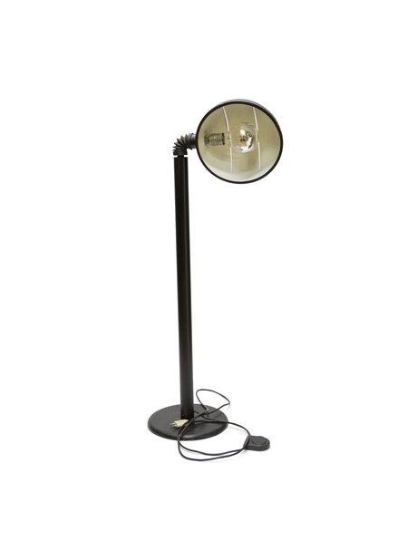 Black vintage floor lamp, 1970s