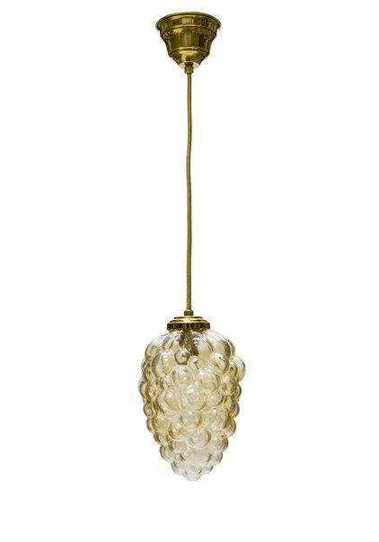 "Vintage Pendant Lamp ""Golden Bunch of Grapes"", 60s"