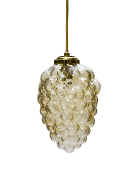 """Hanging lamp """"Bunch of grapes"""", 1960s"""