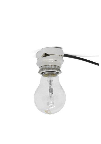 Porseleinen Plafondlampje, Wit, Jaren 30