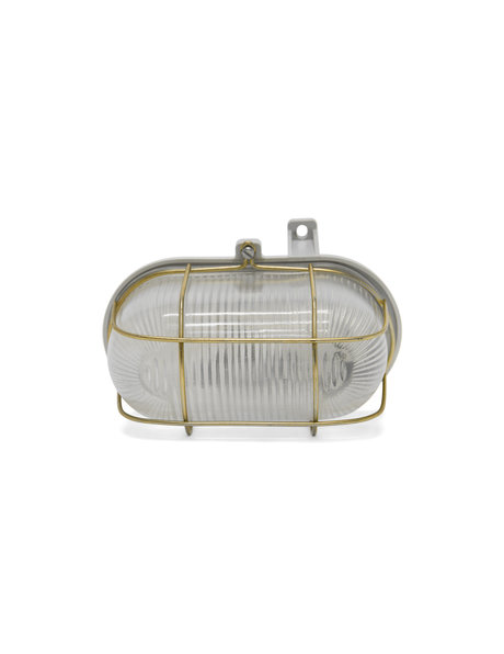 Industrial wall lamp, also called cage lamp, 1960s