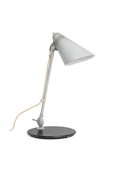 Solid industrial desk lamp, 1950s