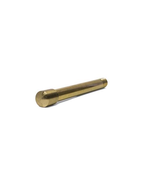 Cover plate, Brass, 1.5 cm / 0.59 inch, M10x1