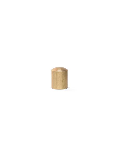 Afdekdop, Messing, 1.5 cm, M10x1