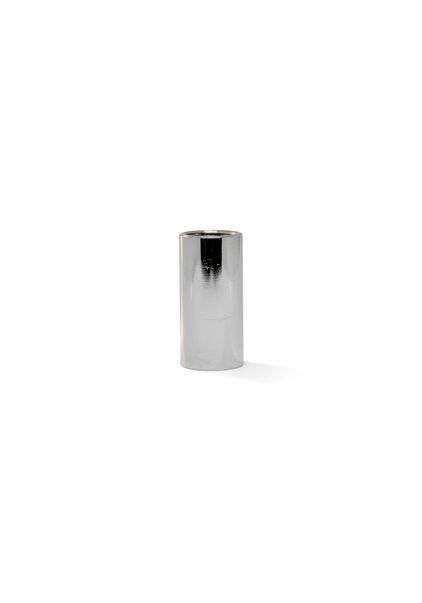 Koppelstuk, 25 mm, Glimmend Zilver, Interne Draad M10x1