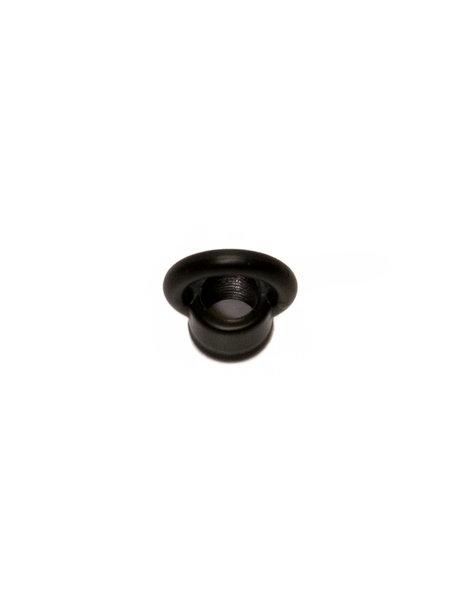 Black Hanging Loop (Ring Nipple), small model, internal screw wire M10