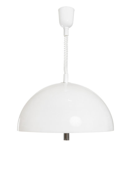 Pendant Lamp, White Syntetics