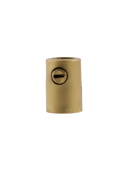 Gold Colour Strain Relief, Plastic, M10x1 Internal Thread