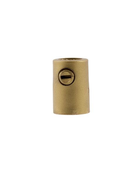 Cord Grip, gold colour, M10x1 internal thread