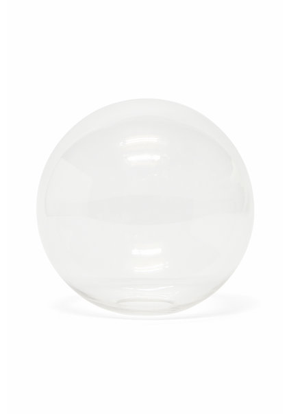 Lampshade, Clear Glass Sphere, 15 cm (6 inch)
