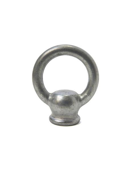 Hanging Loop, Silver Matt, M10 Internal Thread
