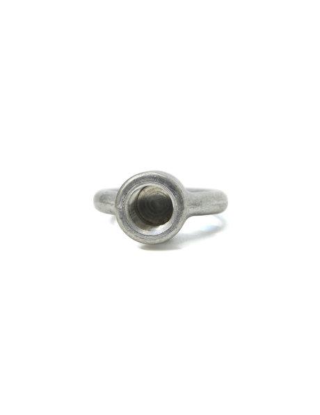 Ophangoog, zilver mat, M10 interne draad