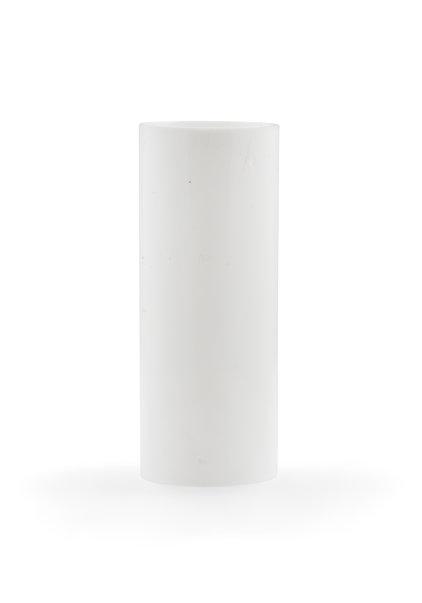 Kroonluchters Kaarshuls, Wit Strak: 6.5x2.4 cm
