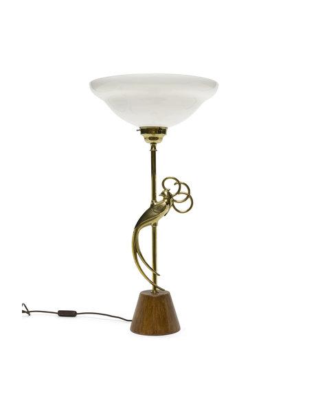 "Grote tafellamp ""Gouden Vogel"" ca. 1960"