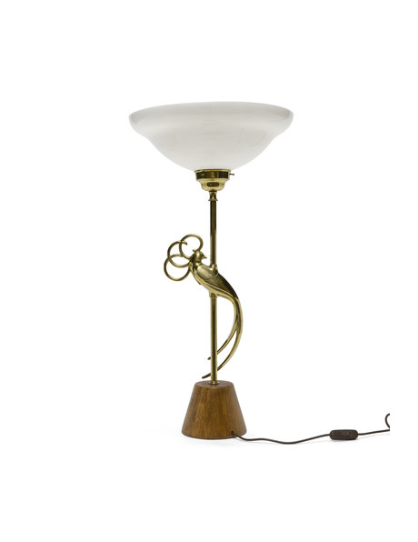 "Large table lamp ""Golden Bird"" 1960s"
