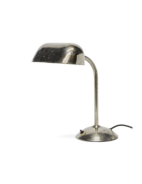 Tough Chrome Desk Lamp with Rotating Head, 1950s