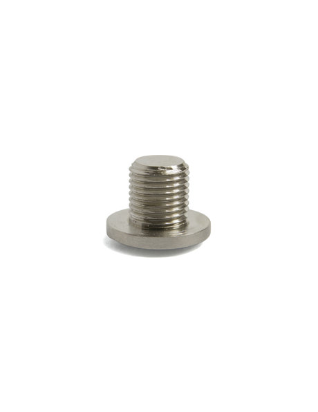 Nut with wide flat head, M10x1