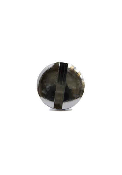Robuuste schroef, glimmend zilver