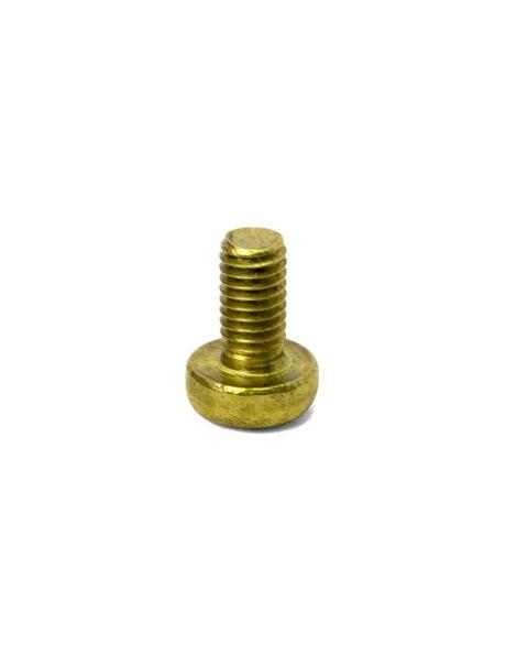 Brass bolt, M3x1 thread, crosshead