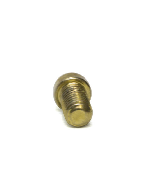 Bolt, brass, M3x1 thread