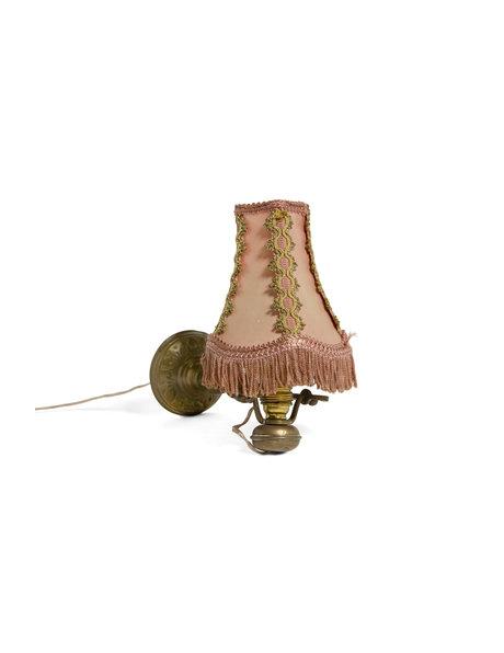Antiek wandlampje, kan ook als tafellamp, ca. 1940