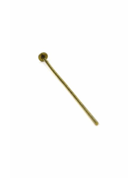 Chandelier parts, gold chandelier pin, length 2.6 cm / 1.02 inch